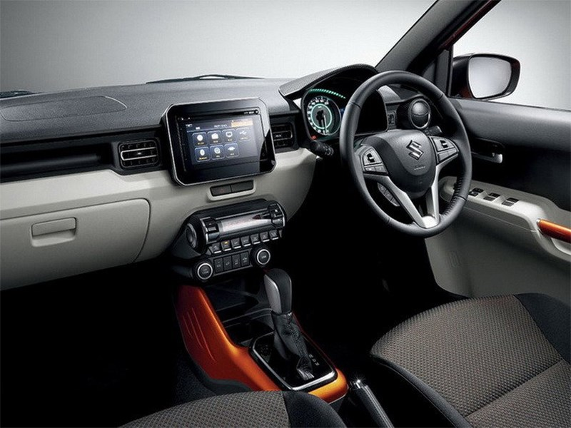 Suzuki Ignis 2016 салон
