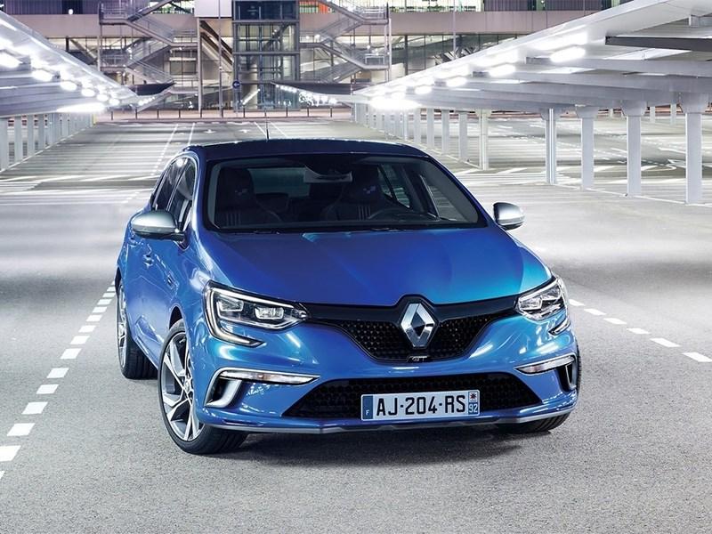 Renault Megane 2016 вид спереди
