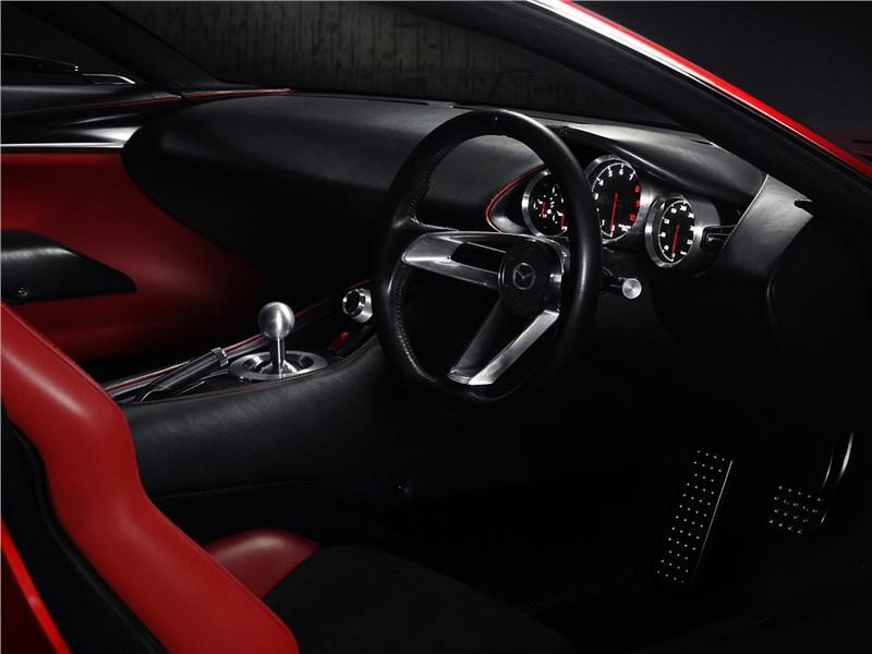 Mazda RX-Vision Concept 2015 салон