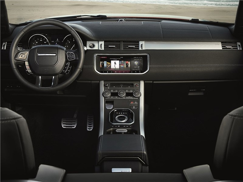Land Rover Range Rover Evoque Convertible 2016 салон