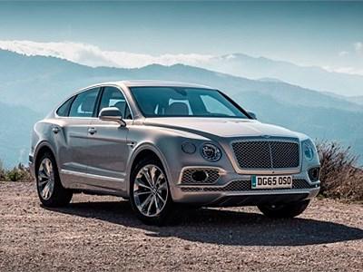 Концепт кросс-купе на базе Bentley Bentayga покажут в марте