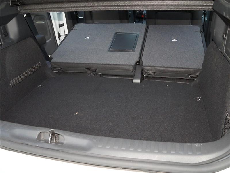 DS4 Crossback 2016 багажное отделение