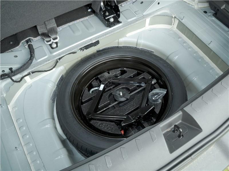 Chevrolet Traverse 2018 запасное колесо