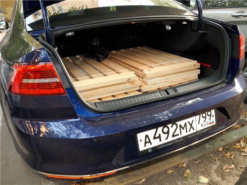Volkswagen Passat 2015 багажное отделение