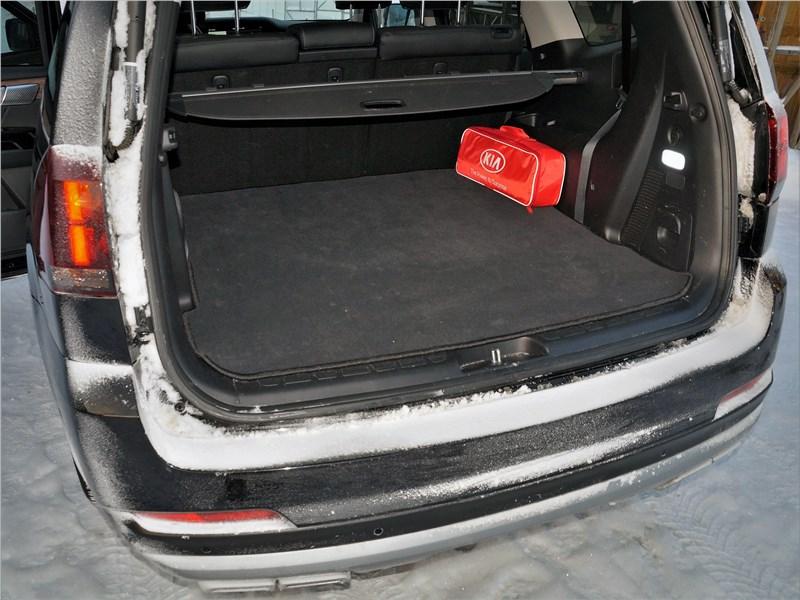 KIA Mohave (2020) багажное отделение