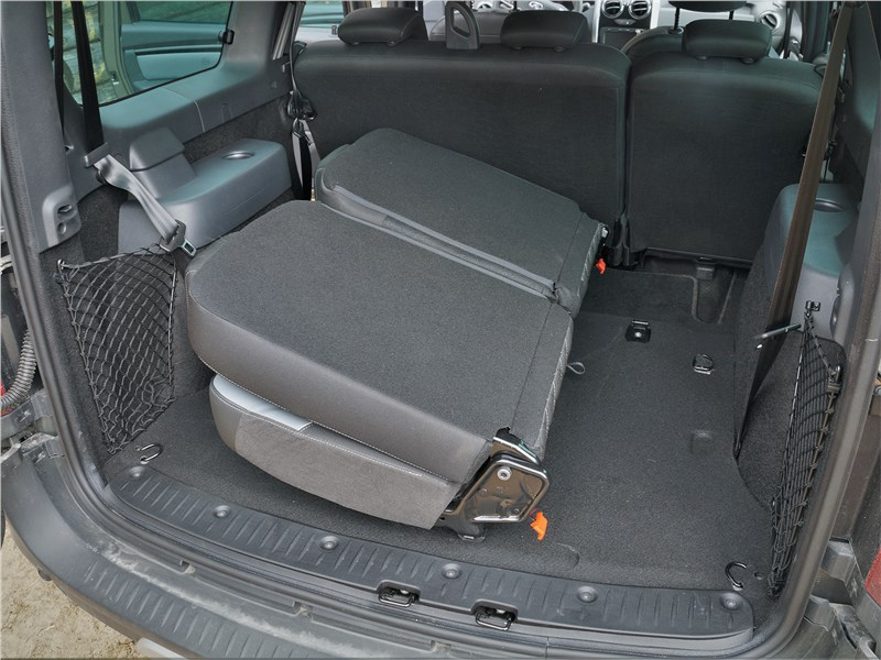 Lada Largus Cross (2020) багажное отделение