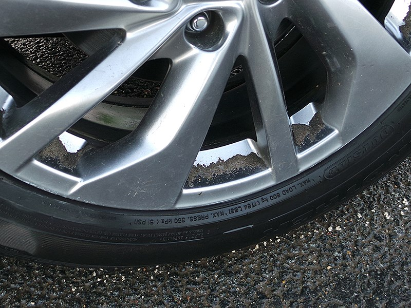 Nissan X-Trail 2014 колесо