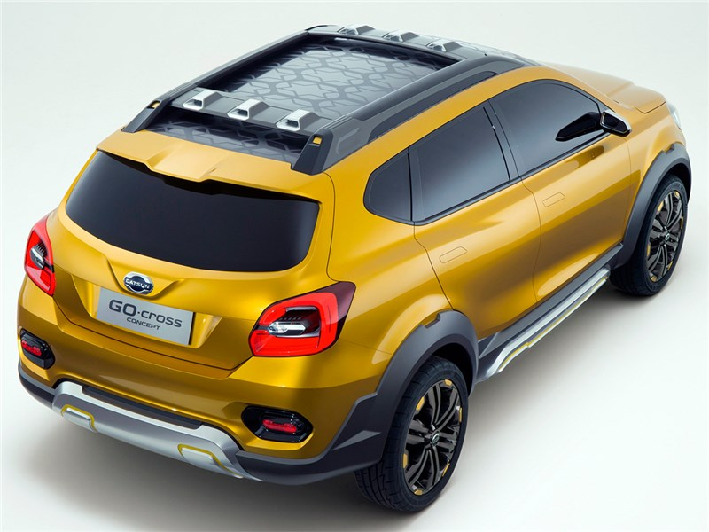 Datsun GO-cross concept 2015 вид сверху