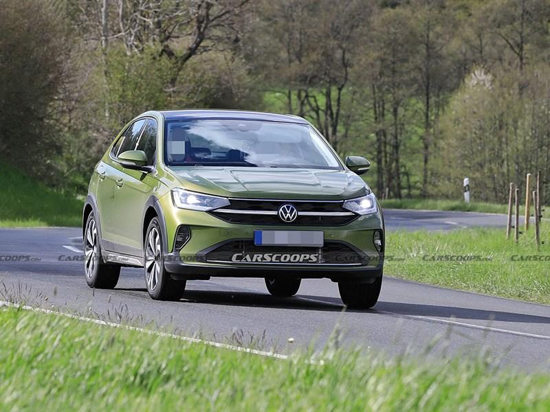 Новый кроссовер Volkswagen замечен на дорогах Европы