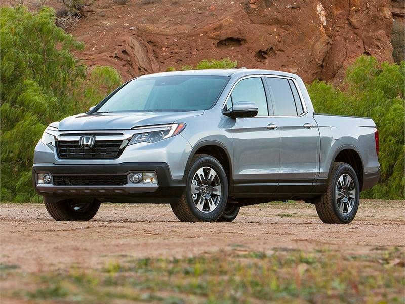 Honda привезла в Детройт пикап Ridgeline нового поколения