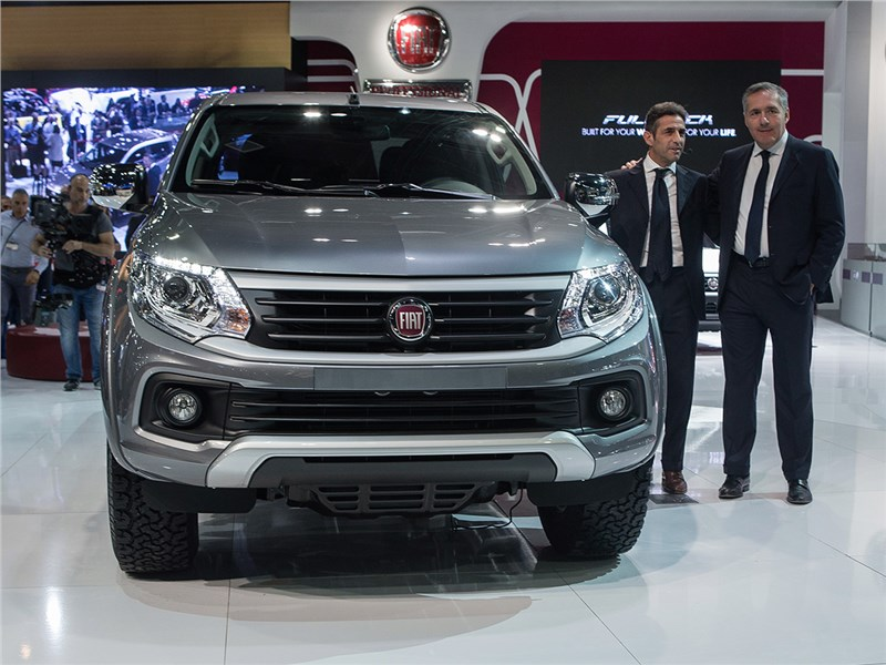 Fiat Fullback 2016 вид спереди 2