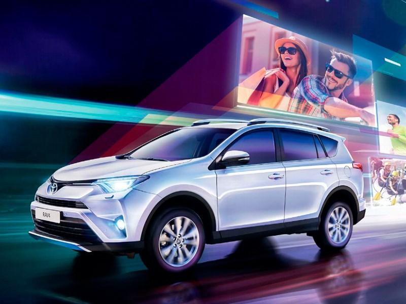 Toyota увеличила свою долю на российском рынке в январе