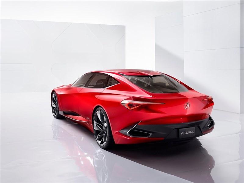 Acura Precision concept 2016 вид сзади