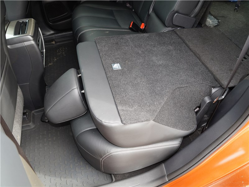 Nissan Murano 2016 задний диван
