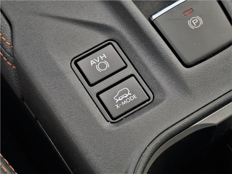 Subaru XV (2022) кнопка X-Mode