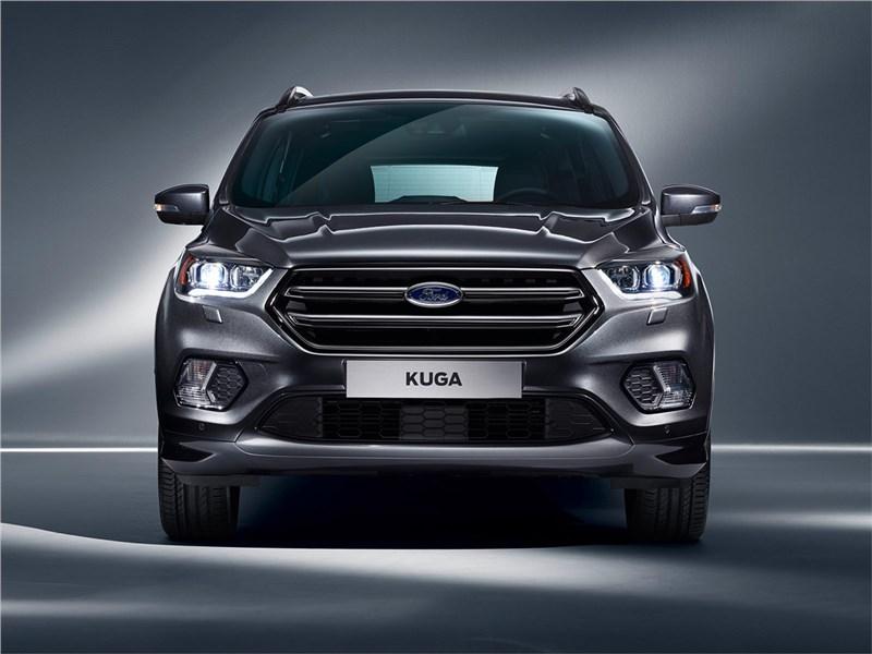 Ford Kuga 2017 вид спереди