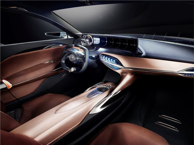Hyundai Genesis New York Concept 2016 салон