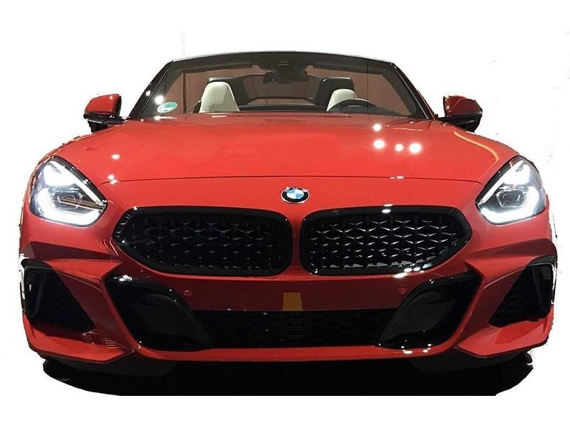 В сети рассекретили серийный BMW Z4