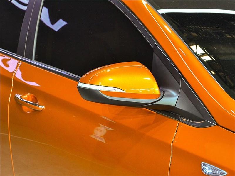 Hyundai Verna Concept 2016 боковое зеркало