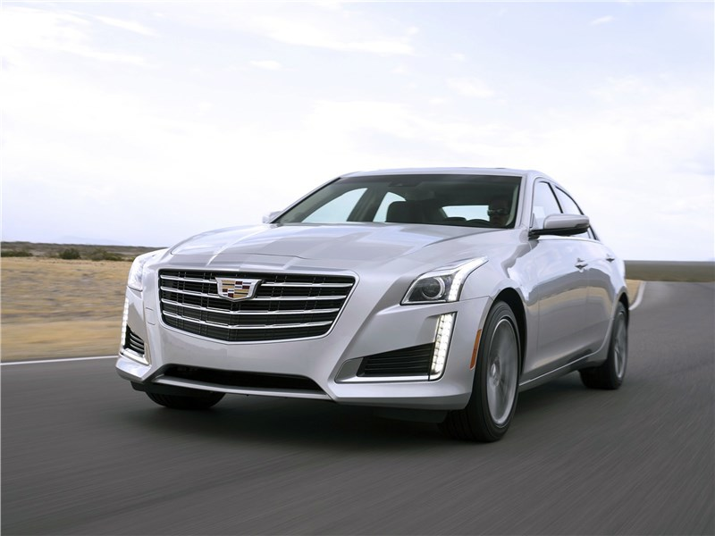 Cadillac CTS 2017 Из флагманского арсенала