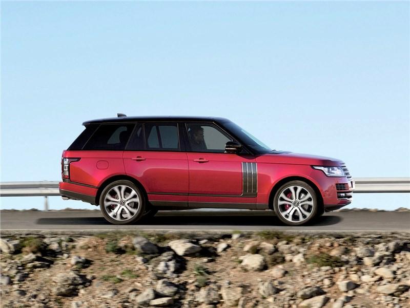 Land Rover Range Rover SVAutobiography Dynamic 2017 вид сбоку