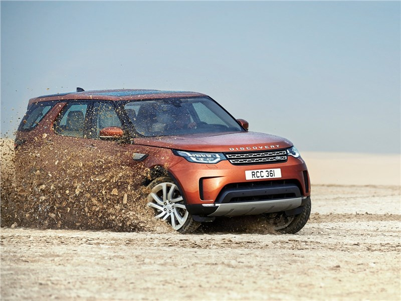 Land Rover Discovery 2017 вид спереди сбоку