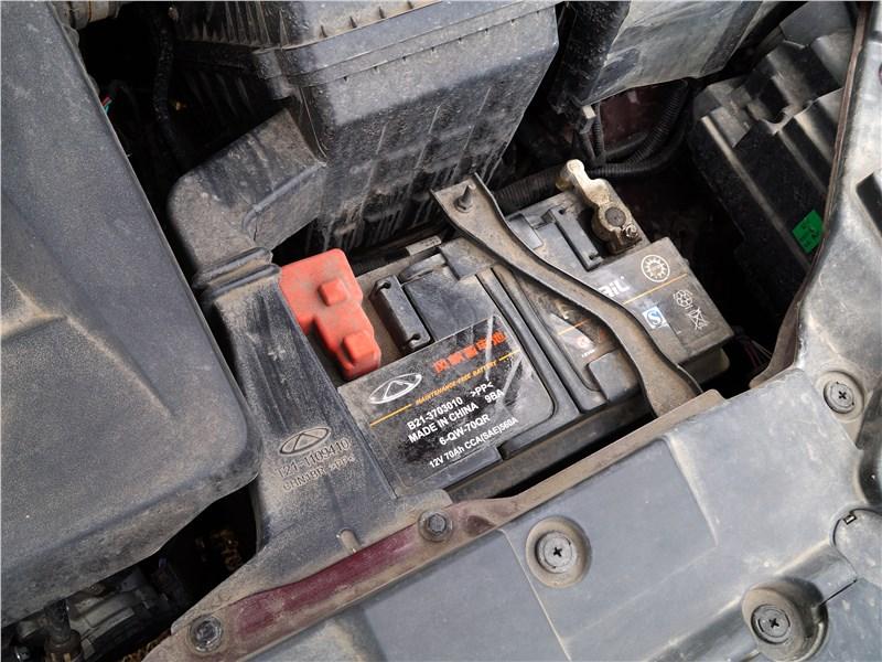 Chery Tiggo 5 2016 аккумулятор