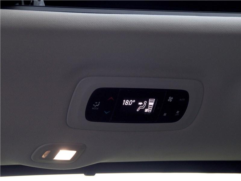 Chrysler Pacifica 2017 панель управления «климатом»