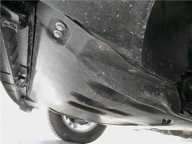Volkswagen Teramont 2018 защита моторного отсека