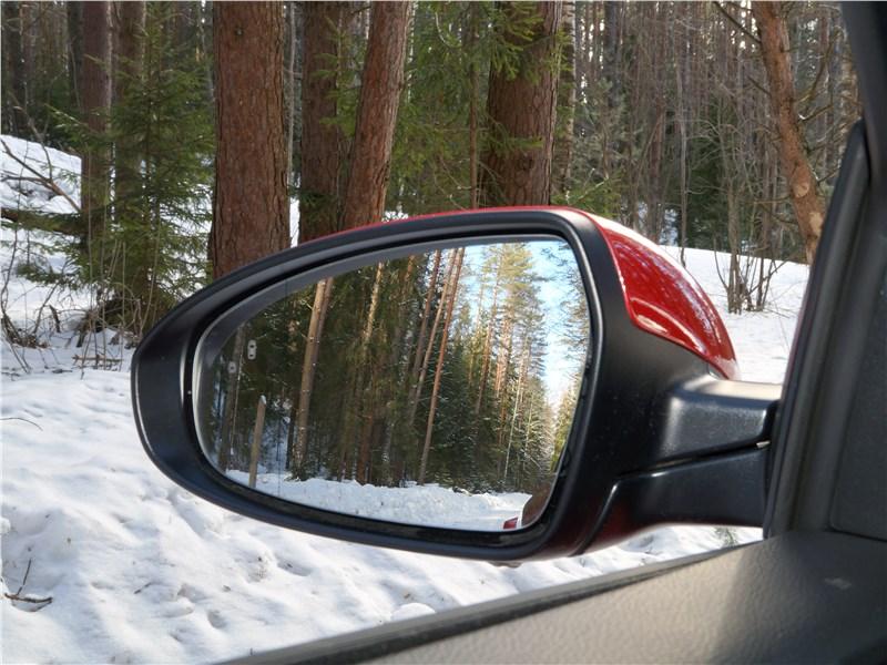 Kia Seed 2019 боковое зеркало