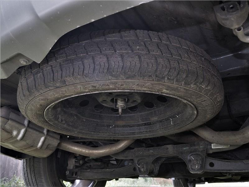 Chery Tiggo 8 2019 запасное колесо