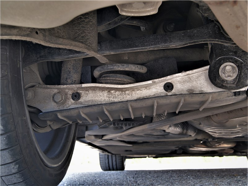 Audi A5 Sportback 2020 задняя подвеска