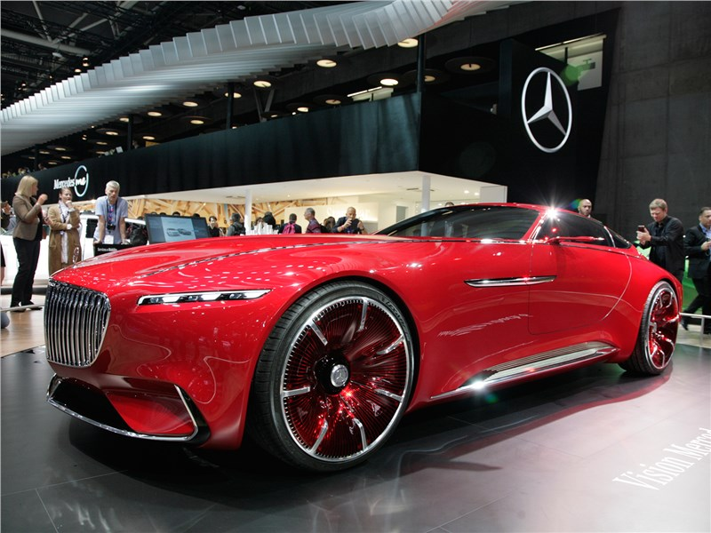Vision Mercedes-Maybach 6 2016 вид спереди