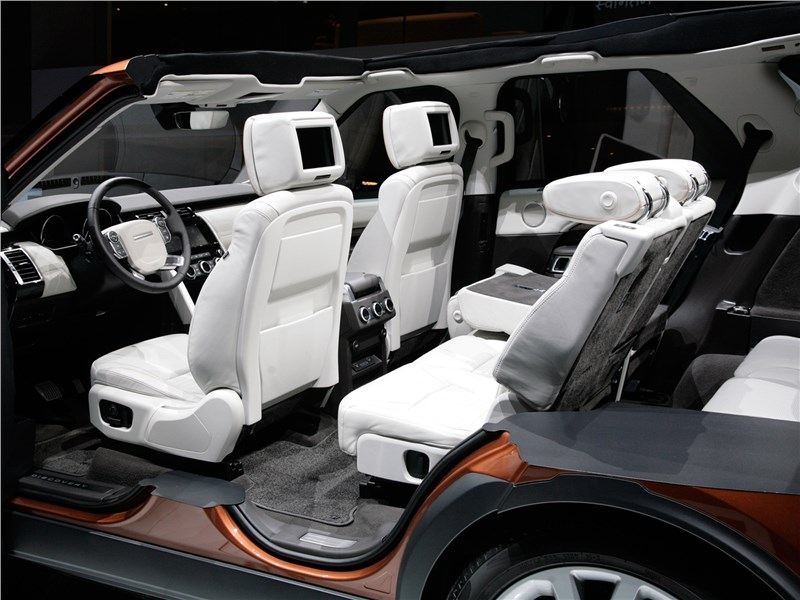 Land Rover Discovery 2017 салон