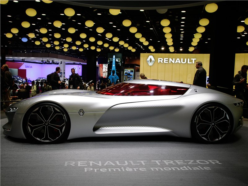 Renault Trezor Concept 2016 вид сбоку