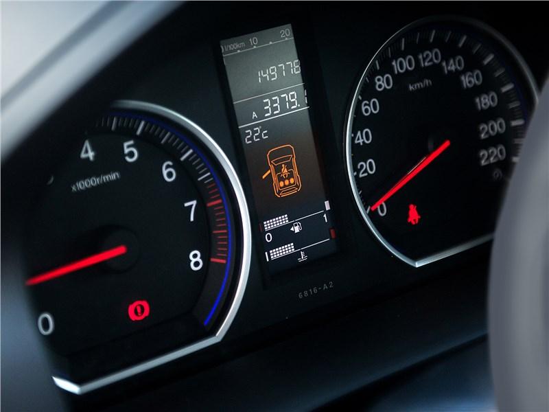 Honda CR-V 2008 приборная панель