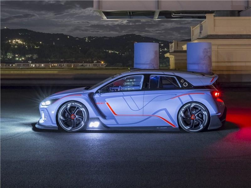 Hyundai RN30 Concept 2016 вид сбоку