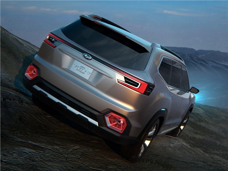 Subaru VIZIV-7 SUV Concept 2016 вид сзади