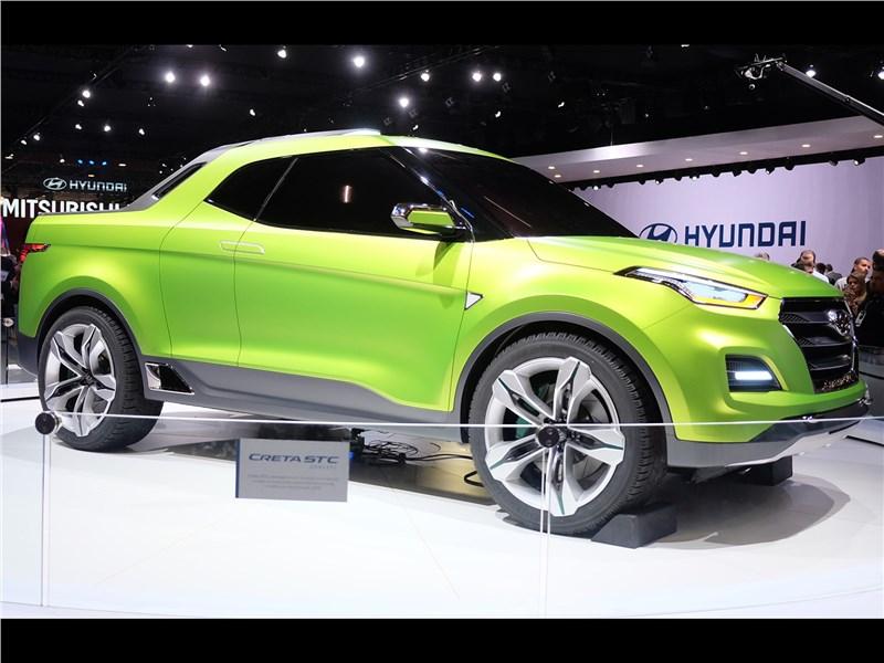 Hyundai Creta STC Concept 2016 вид сбоку