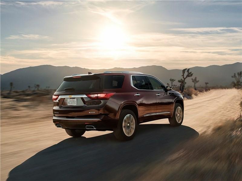 Chevrolet Traverse 2018 вид сзади