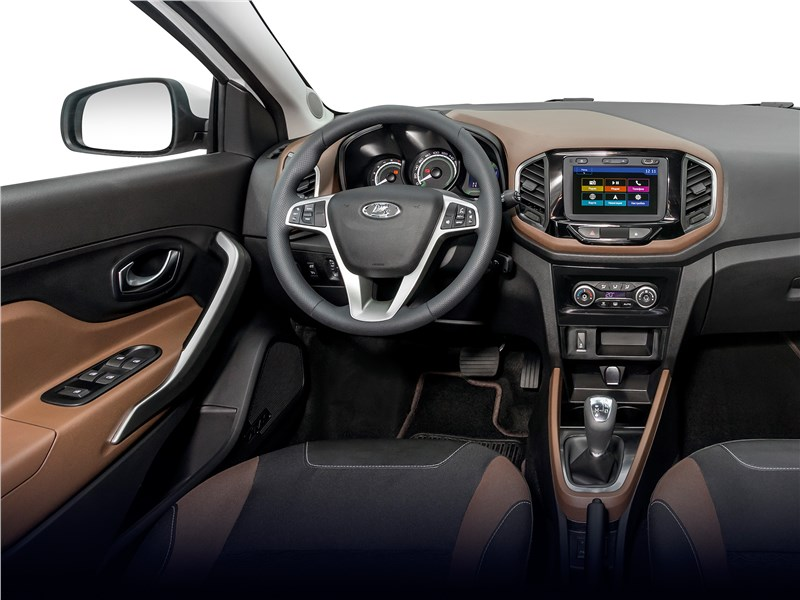Lada XRay 2015 салон