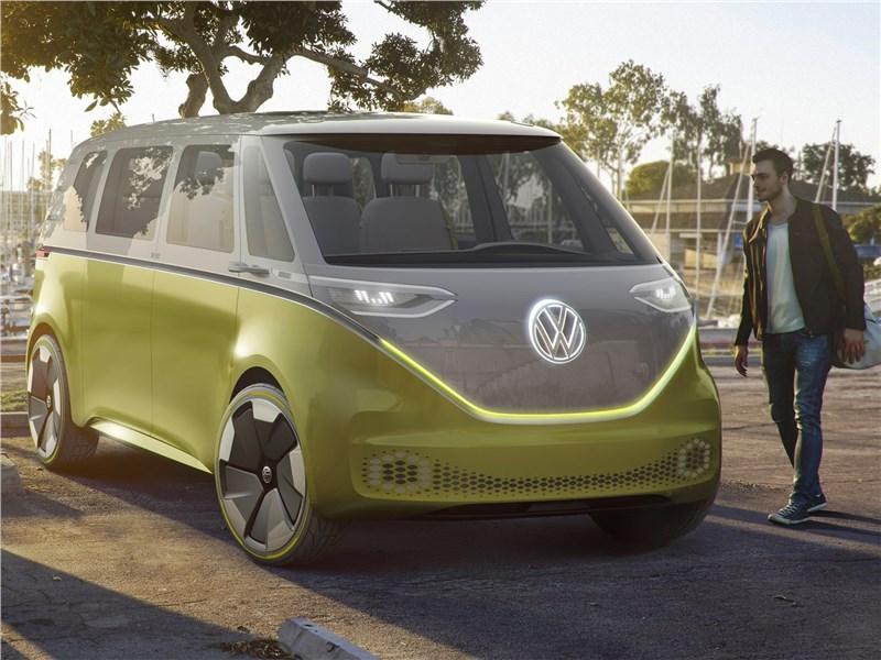 Volkswagen ID Buzz Concept 2017 вид спереди