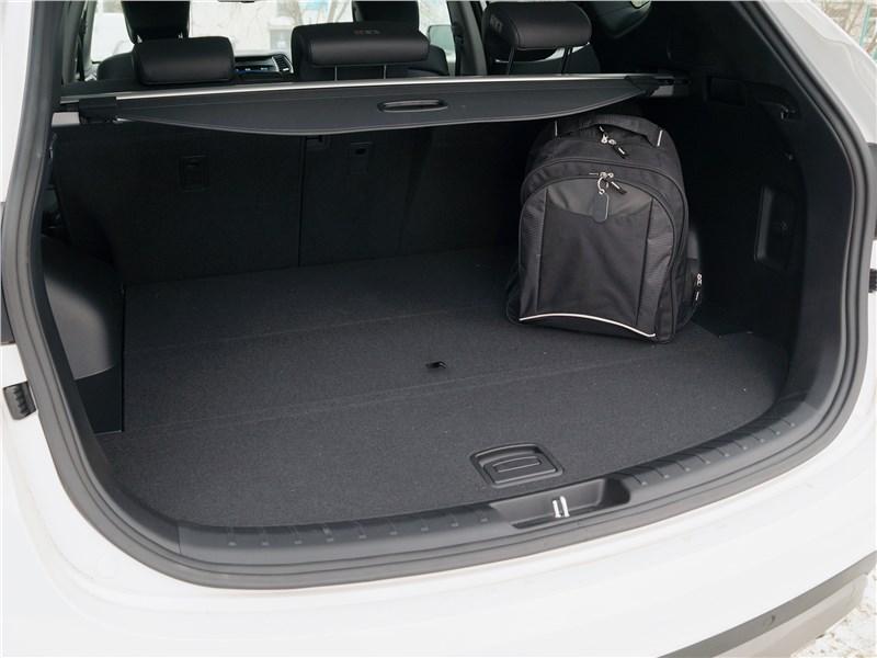Hyundai Santa Fe 2015 багажное отделение