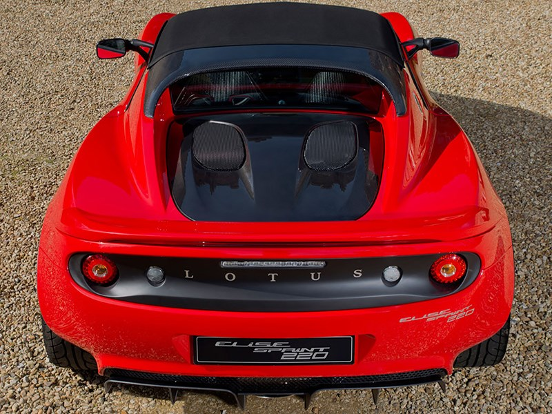 Сверхлегкая версия Lotus Elise