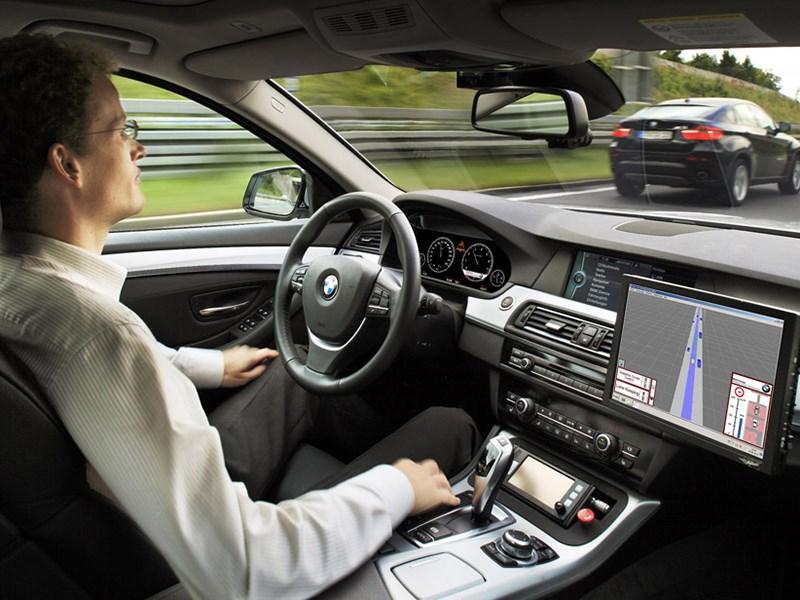 Серийный «беспилотник» от BMW появится в 2021 году