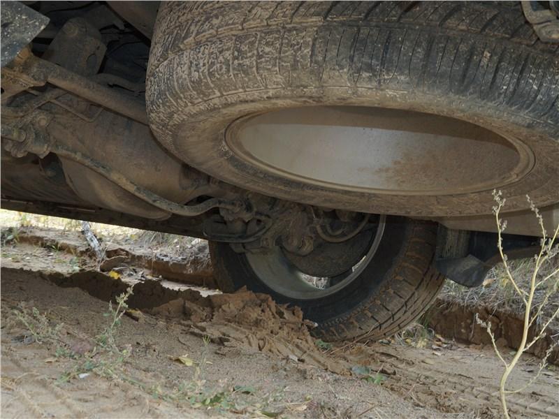 Haval H9 2017 запасное колесо