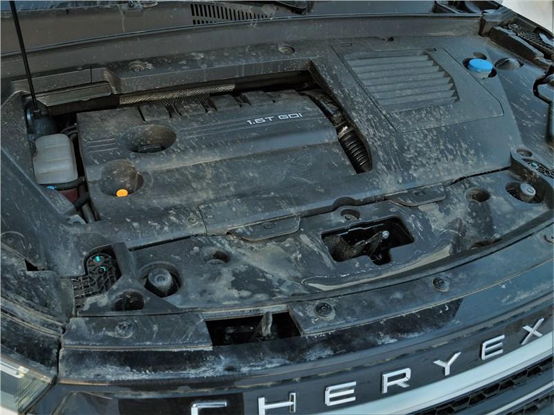 Cheryexeed TXL (2020) моторный отсек