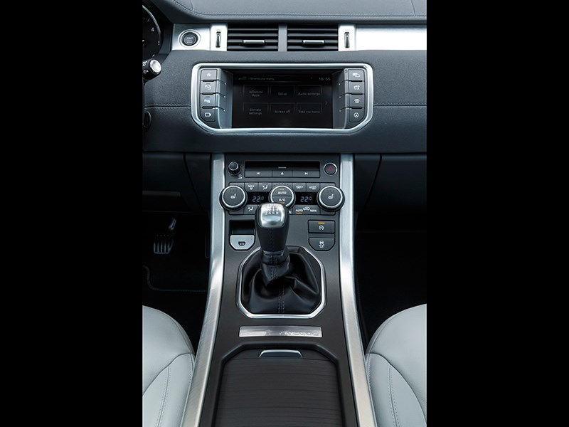 Land Rover Range Rover Evoque 2016 центральный тонель