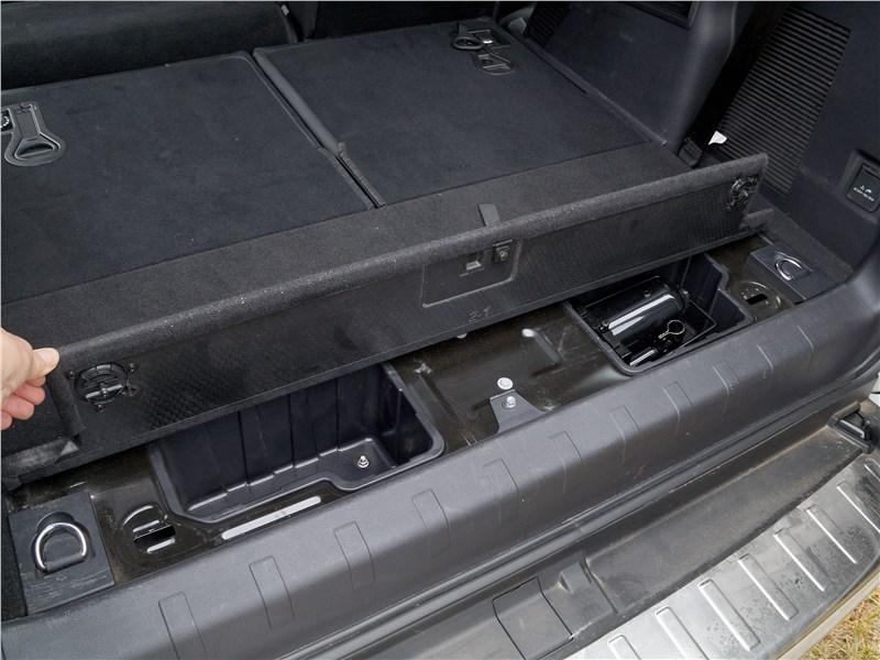 Haval H9 2014 багажное отделение