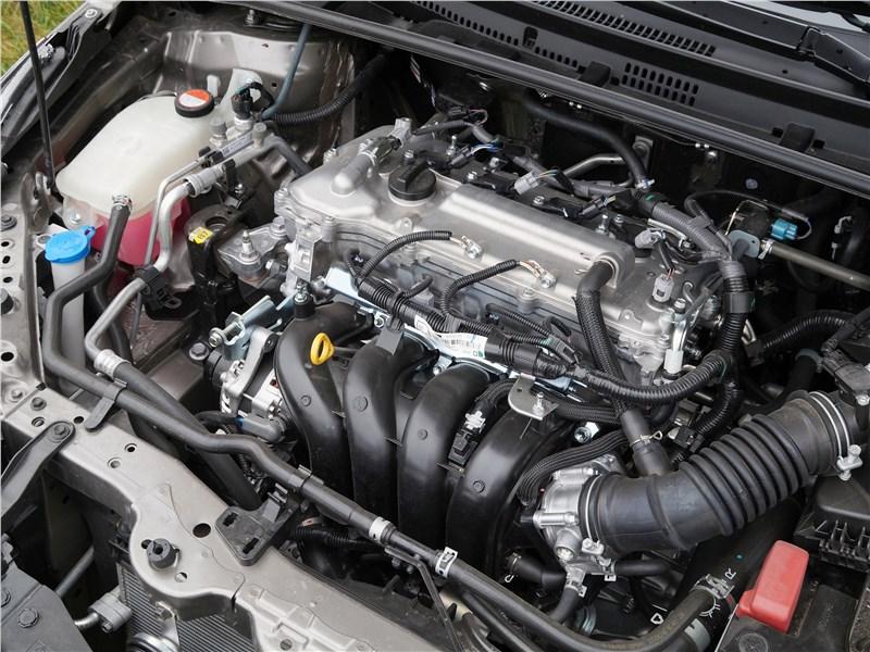 Toyota Corolla 2017 двигатель